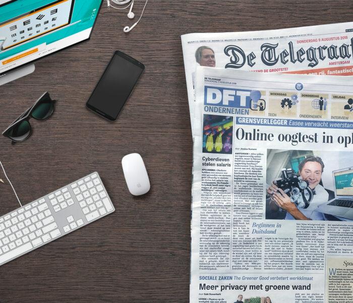 """De Telegraaf noemt easee """"grensverlegger"""""""