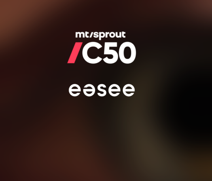 easee has been nominated for the final list of Sprout Challenger50 2020